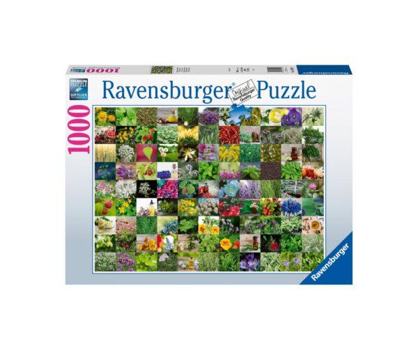 Ravensburger Puzzle 1000 Pezzi - 99 Erbe e spezie