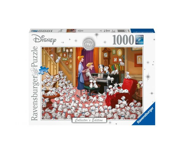 Ravensburger Puzzle 1000 Pezzi - La carica dei cento e uno