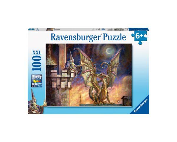 Ravensburger Puzzle 100 Pezzi XXL - Regalo di fuoco