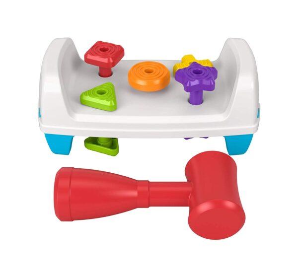 Fisher-Price - Banchetto da Lavoro Forme e Colori, Giocattolo per Bambini 12+ Mesi    FISHER-PRICE