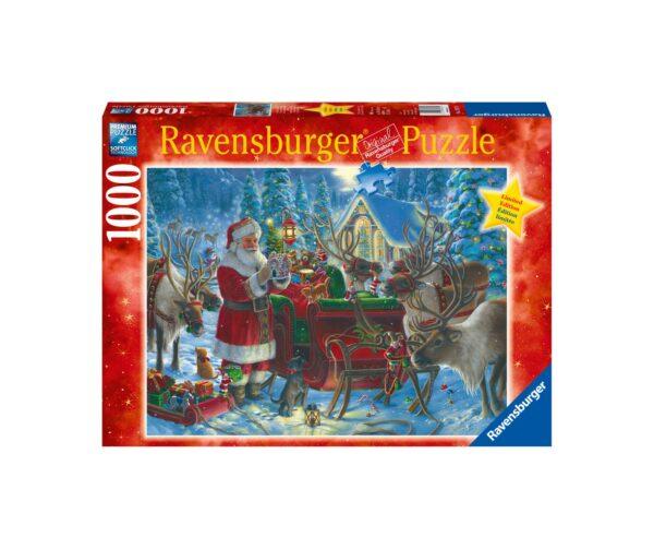 Ravensburger Puzzle 1000 Pezzi - Confezionamento dello slittino