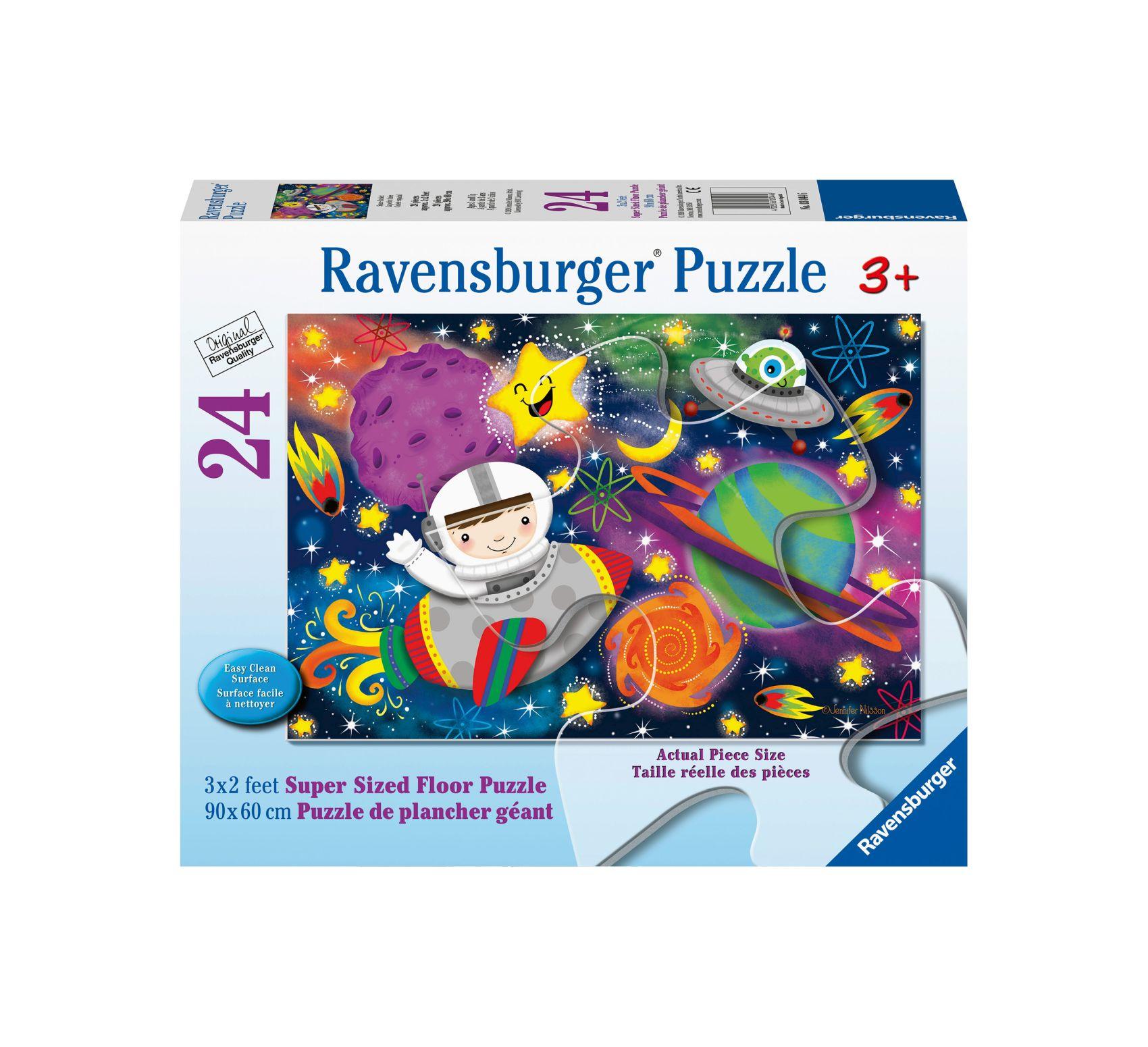 Ravensburger puzzle 24 giant pavimento - razzo spaziale -