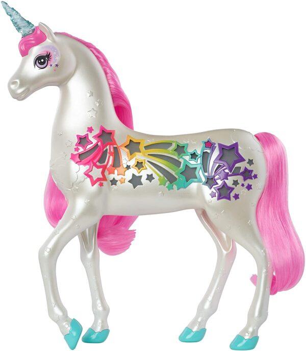 Barbie Dreamtopia Unicorno Pettina & Brilla Barbie
