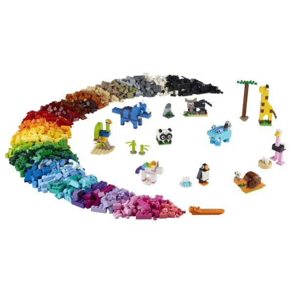 LEGO Classic Mattoncini e animali - 11011    Classic