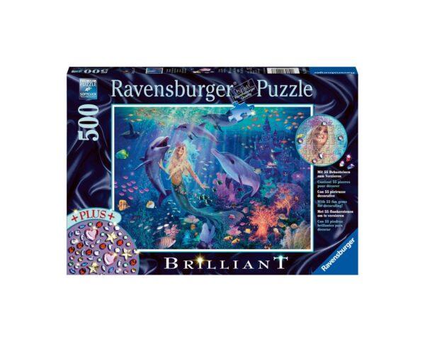Ravensburger Puzzle 500 Pezzi - Incantevole sirena