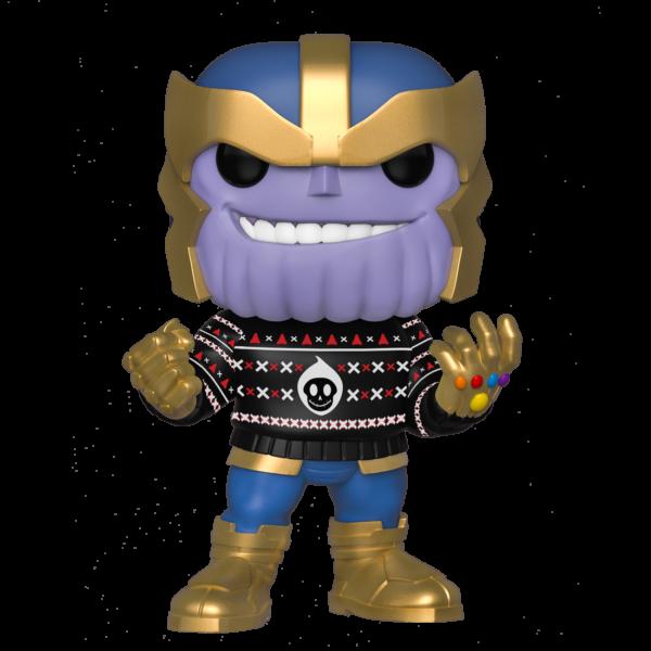 FUNKO POP Marvel: Holiday - Thanos