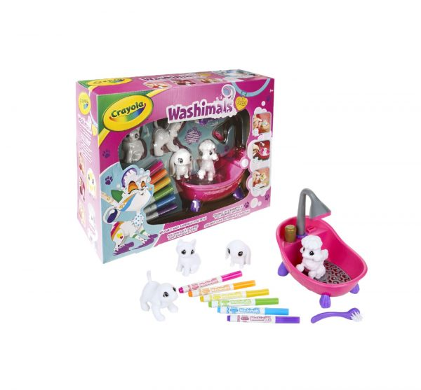 WASHIMALS SET ATTIVITA' CRAYOLA