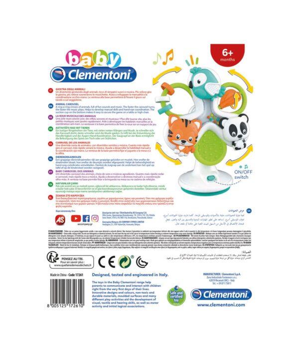 Clementoni - 17261 - Giostra degli Animali