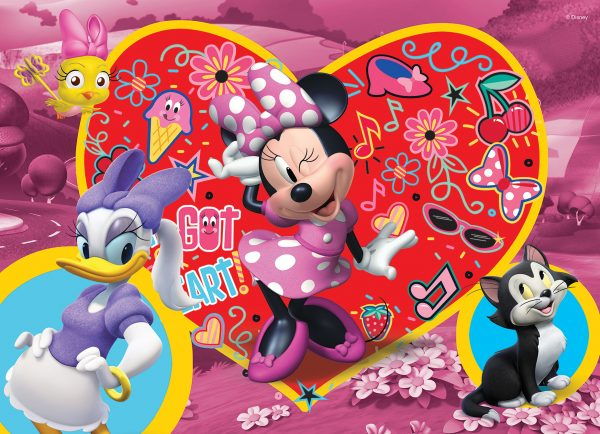 LISCIANI - PUZZLE DF SUPERMAXI 108 MINNIE