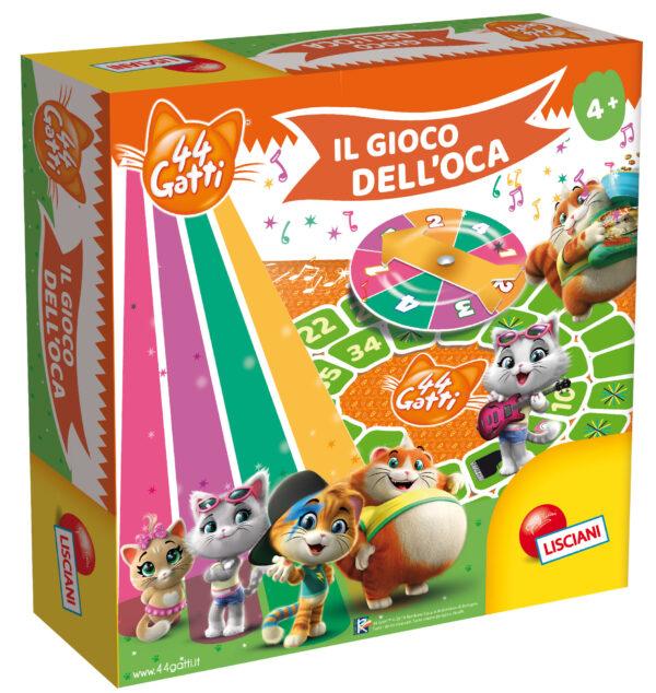 LISCIANI - 44 GATTI GIOCO DELL'OCA