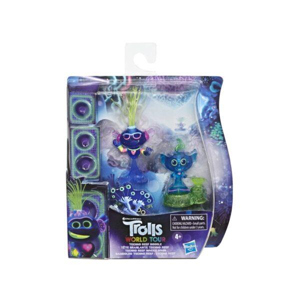 Trolls World Tour - Techno Reef, pupazzo con testa dondolante
