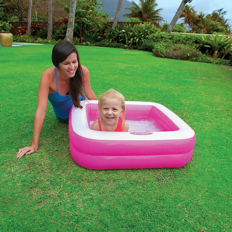 Intex piscina baby rettangolare 85x85x23 cm -