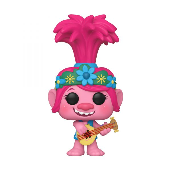 ESCLUSIVO FUNKO POP Movies: Trolls World Tour -  Poppy con chitarra