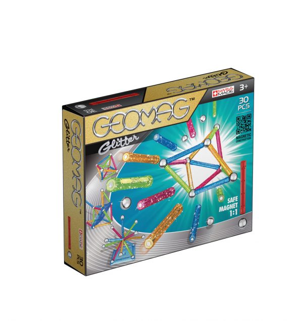 Glitter 30 ALTRO, Geomag Unisex 12-36 Mesi, 3-4 Anni, 3-5 Anni, 5-7 Anni ALTRI