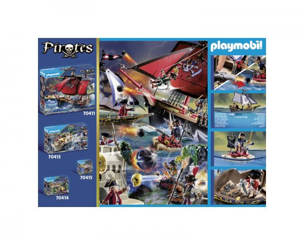 NAVE DELLA MARINA REALE    Playmobil