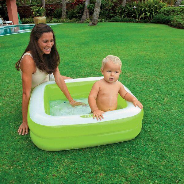 INTEX PISCINA BABY RETTANGOLARE 85x85X23 CM