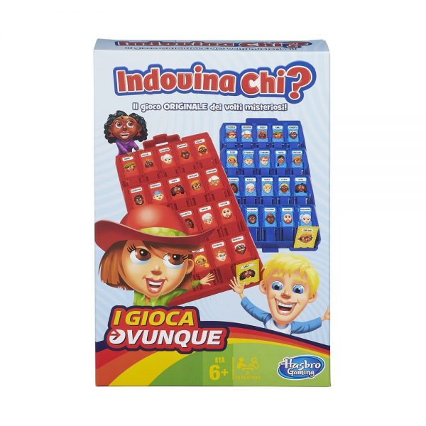 INDOVINA CHI TRAVEL - HASBRO GAMING HASBRO GAMING Unisex 5-8 Anni ALTRI