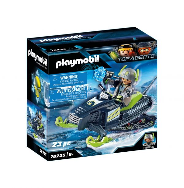 MOTOSLITTA DEI RIBELLI DELL'ARTICO Playmobil