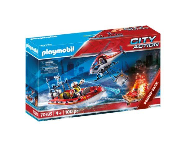 MISSIONE ANTINCENDIO Playmobil