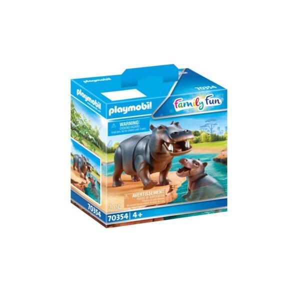 IPPOPOTAMO CON CUCCIOLO Playmobil