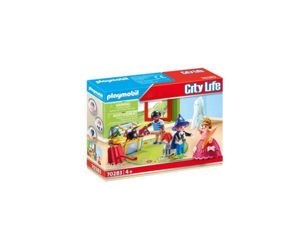 BAMBINI CON IL BAULE DEI TRAVESTIMENTI Playmobil