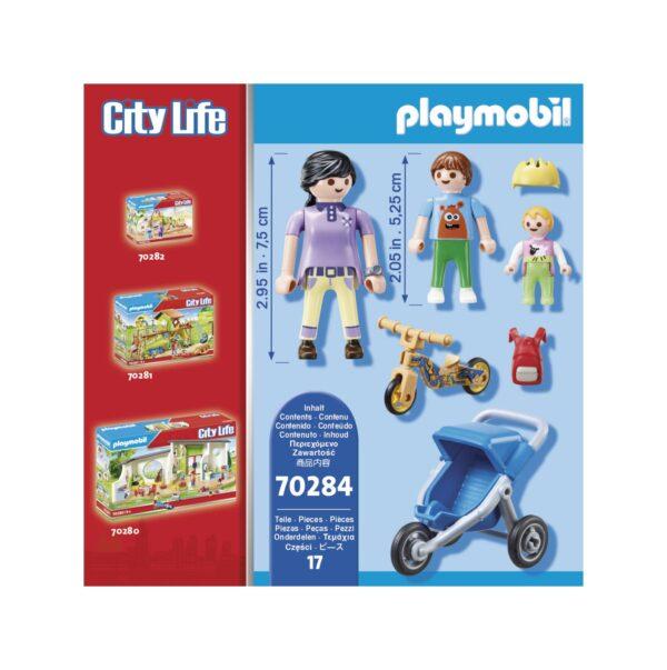 MAMMA CON BAMBINI    Playmobil