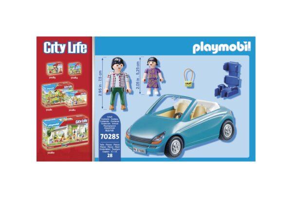 PAPÀ E BIMBA CON CABRIO    Playmobil