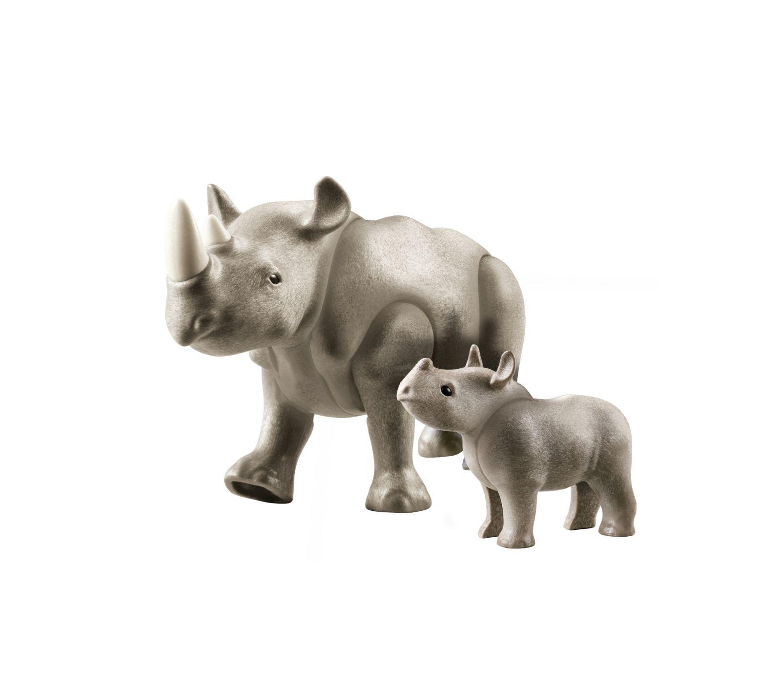 Rinoceronte con cucciolo - Playmobil