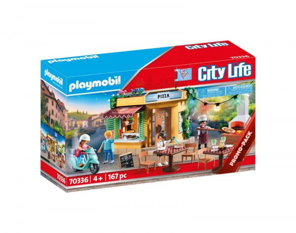 PIZZERIA CON GIARDINO Playmobil