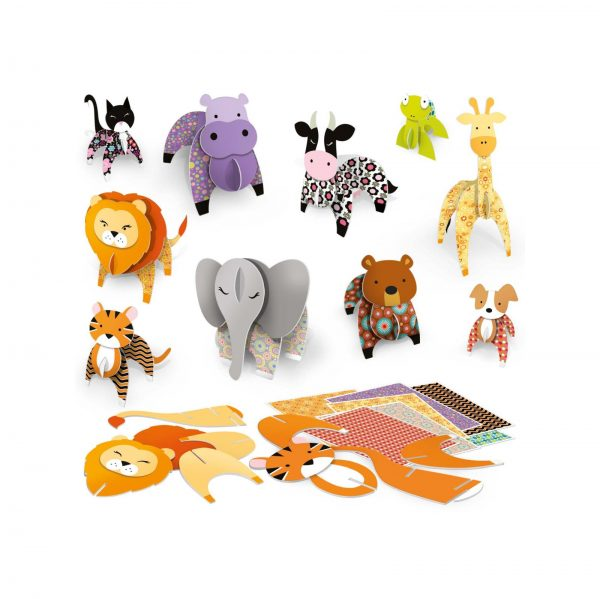 Make 3D Animals Montessori