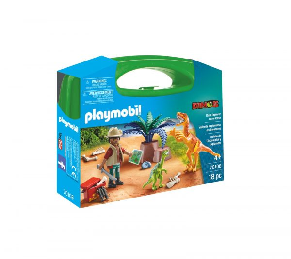 CARRIYNG CASE LARGE DINOSAURI    Playmobil