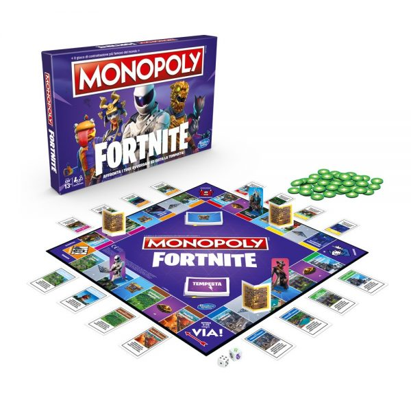 MONOPOLY FORTNITE - HASBRO GAMING