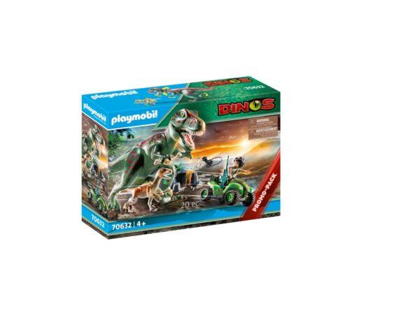 ATTACCO DEL T-REX Playmobil