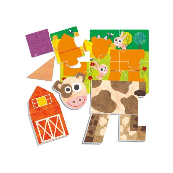 Tactile Lotto for Kids Montessori