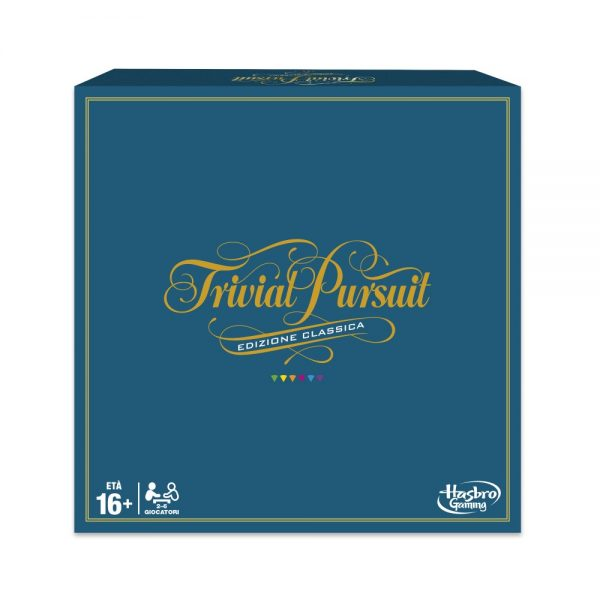 TRIVIAL PURSUIT - HASBRO GAMING HASBRO GAMING Unisex 12+ Anni ALTRI
