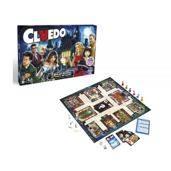 CLUEDO HASBRO GAMING REFRESH