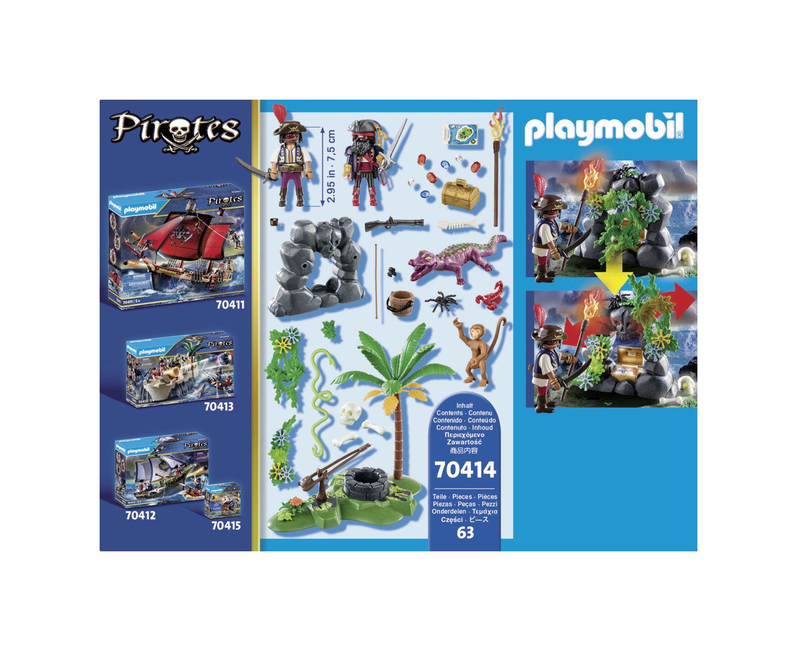 Nascondiglio del tesoro dei pirati - Playmobil