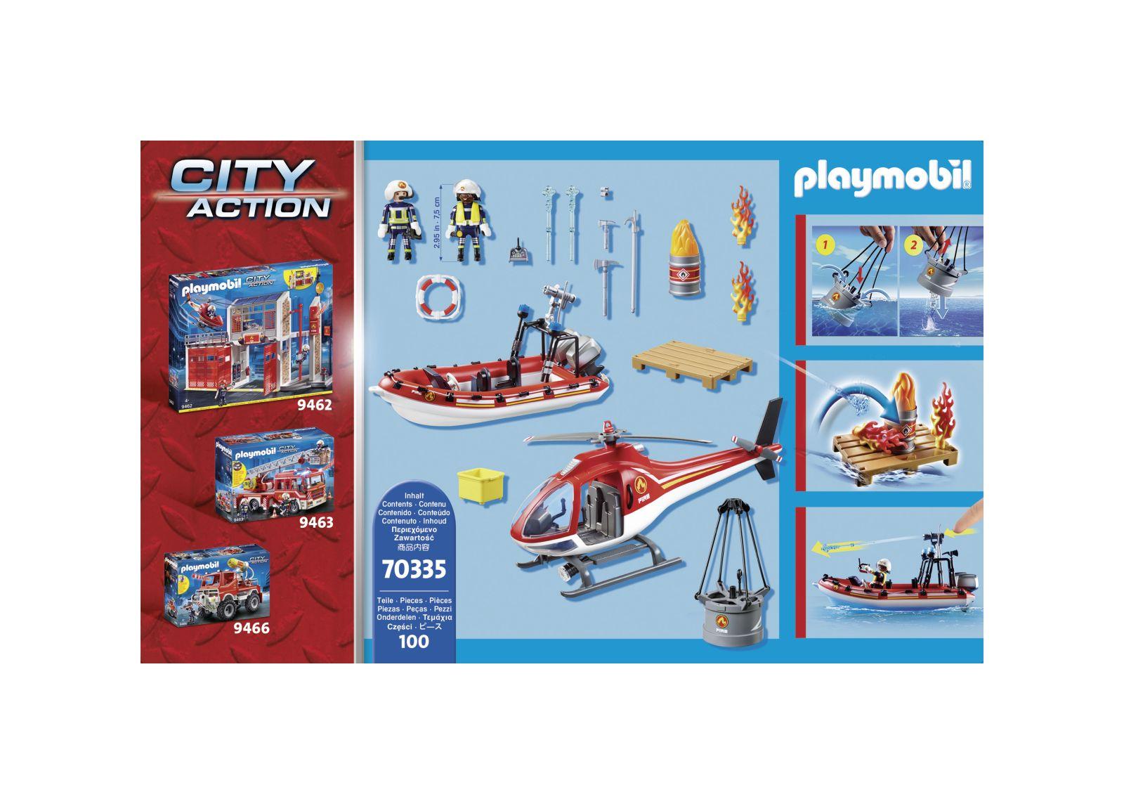 Missione antincendio - Playmobil