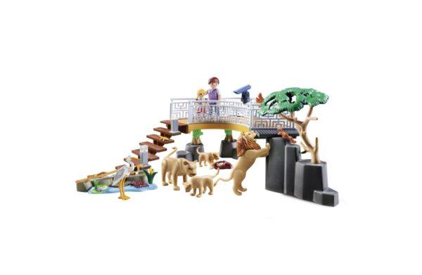 RECINTO DEI LEONI    Playmobil