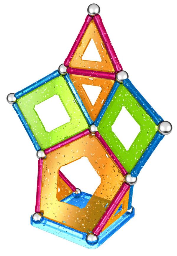 ALTRO, Geomag ALTRI Glitter 44 Unisex 12-36 Mesi, 3-4 Anni, 3-5 Anni, 5-7 Anni