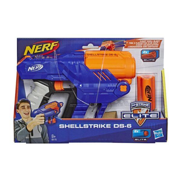 Nerf Elite - Shellstrike DS-6