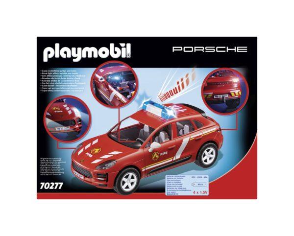 PORSCHE MACAN S DEI VIGILI DEL FUOCO    Playmobil