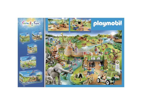 LA GRANDE AVVENTURA ALLO ZOO    Playmobil