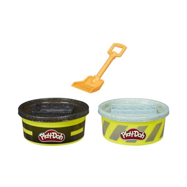 Play-Doh Wheels - Vasetti di pasta modellabile da costruzione (2 confezioni)