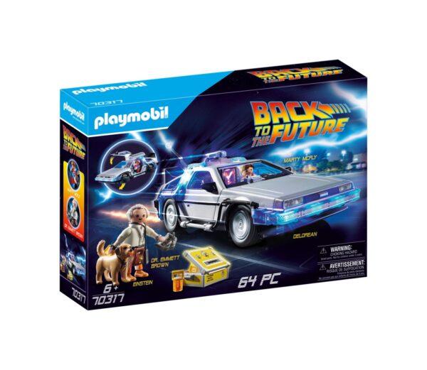 RITORNO AL FUTURO DELOREAN Playmobil