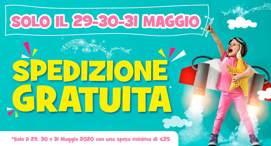 SPEDIZIONE GRATUITA 29 30 31