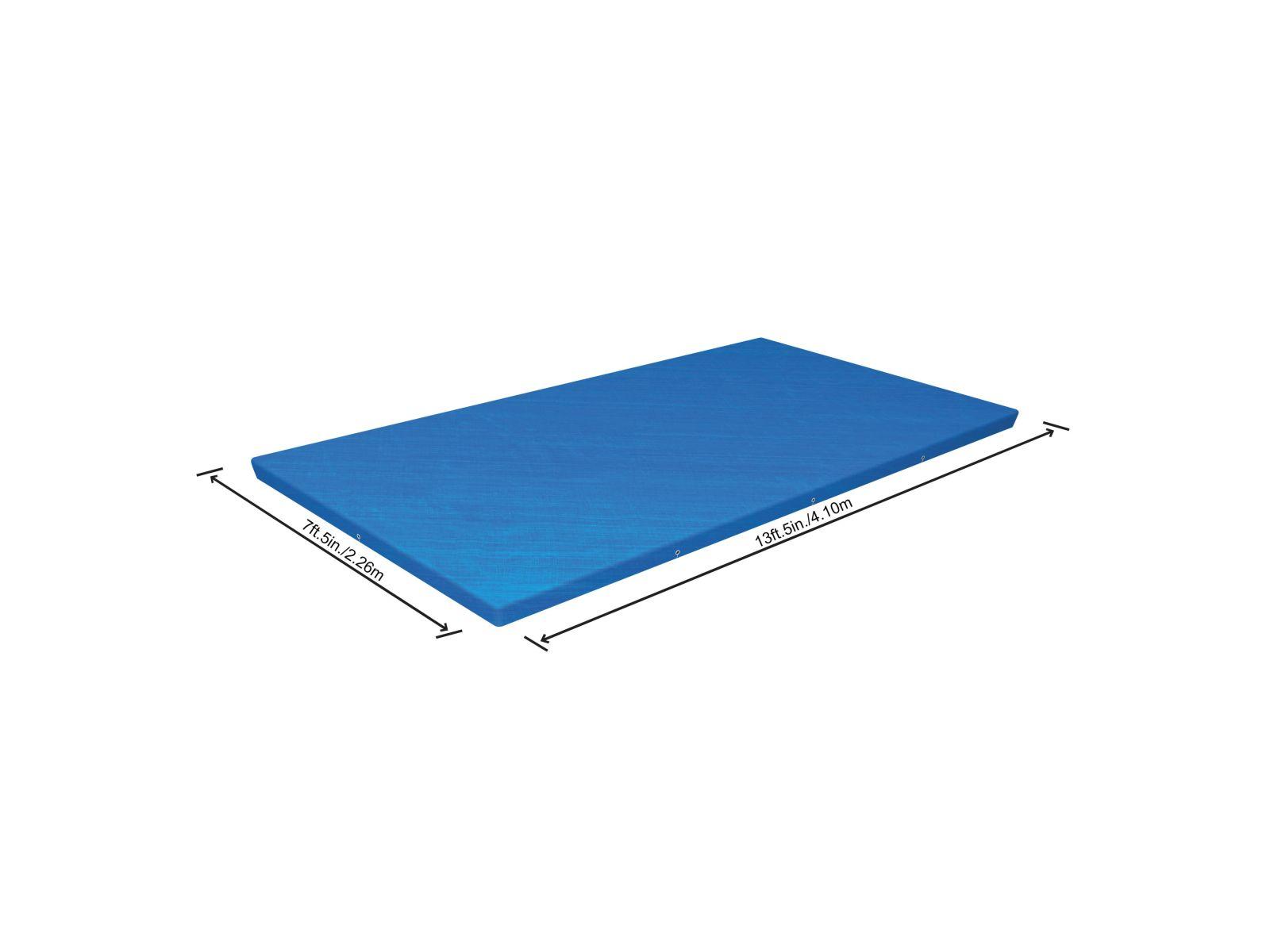 Bestway copripiscina steel pro frame rettangolare 400x211x81 cm -