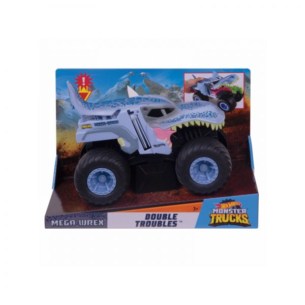 Hot Wheels Monster Truck, Macchinine Mega Trasformazione Assortite, Multicolore Hot Wheels