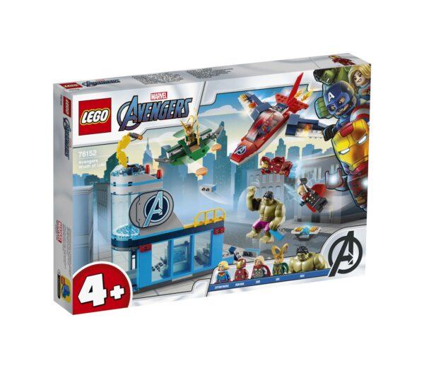 LEGO Marvel Super Heroes L'ira di Loki degli Avengers - 76152