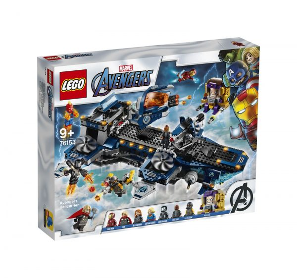 LEGO Marvel Super Heroes Helicarrier degli Avengers - 76153